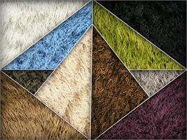ALPACA Solid Curly Faux Fur Long Pile Fabric