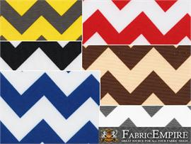 Indoor/Outdoor Waterproof Chevron Fabrics