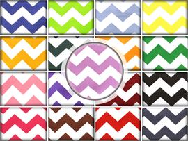 100% Cotton Large Chevron Print Fabrics