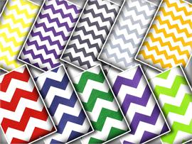 100% Cotton Chevron Print Fabrics