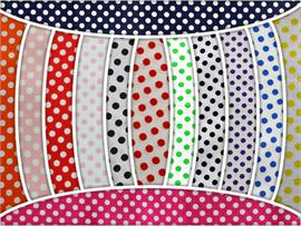 100% Cotton Small Polka Dots Print Fabrics