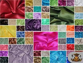 Satin L'amour Solid Fabrics