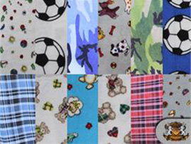 Flannel Printed Cotton Fabrics