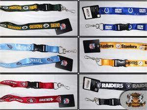 NFL Licensed Team Lanyards