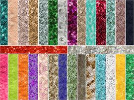 Sequin Spider Micro Disc Fabrics