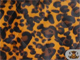"Animal Print Vinyl with 1/2"" Batting Backing"