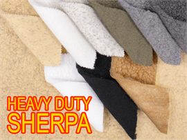 HEAVY DUTY SHERPA SHEEP SKIN