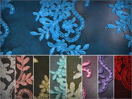 Mesh Lace Embroidery FREESIA Fabrics