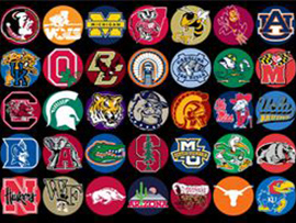 NCAA Cotton Fabrics