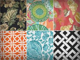 Printed Indoor/Outdoor Fabrics