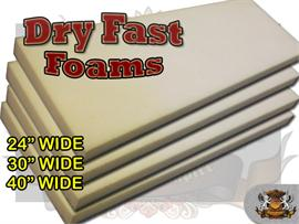 Dry Fast Reticulated Foam Sheets