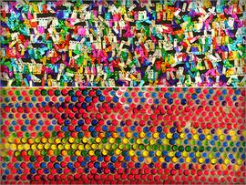 Sequin Rainbow Fabrics