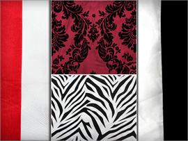 Satin Velvet Prints Fabric