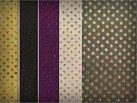 Stretch Small Dots Hologram Fabrics