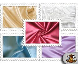 Poly Satin Solid Color Fabrics