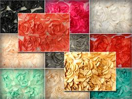 Satin Rose Boardeux Fabrics