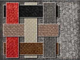 Chenille Solid Basket Weave
