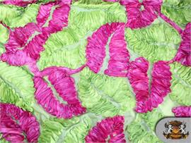 Autumn Leaves Taffeta Fabrics
