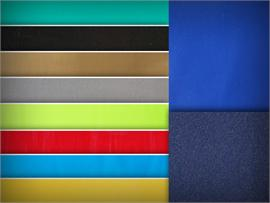 Vinyl Smooth Suede Backing Fabrics