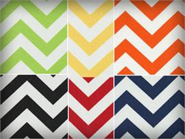 Waterproof Chevron Fabrics