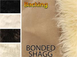 BONDED SHAGG SUEDE BACKING