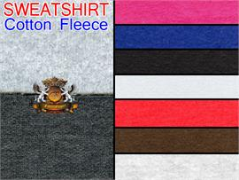 SWEATSHIRT Cotton Fleece Fabrics