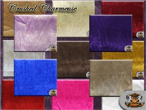 Satin Crushed Charmeuse Fabrics