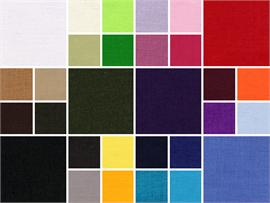 Polyester Cotton Broadcloth Solid Fabrics