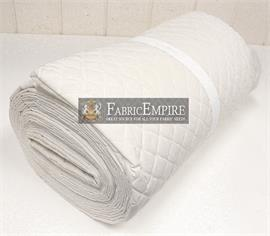 Muslin Single Face Quilted Diamond Fabric