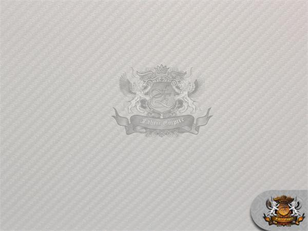 Vinyl Embossed Carbon Fiber Upholstery Fabric White