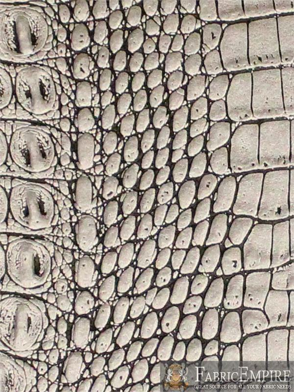 Metal Crocodile Pattern Leather Oil Leather Crocodile Pvc Leather Fabric Arts,crafts & Sewing