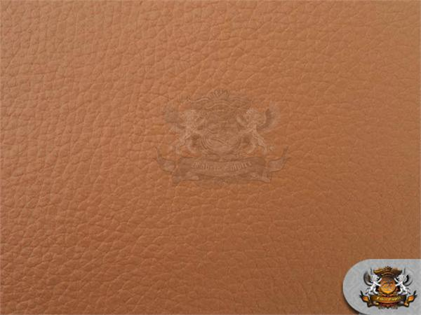 Vinyl Champion Tan Fake Leather Upholstery Fabric By The Yard