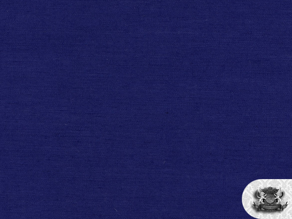 Broadcloth Solid Color Royal Blue Fabric Swatch