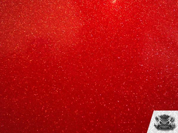 Vinyl Tolex Fabric Sparkle Red Planet Fake Leather Upholstery Sold