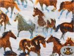 Fleece Printed Fabric