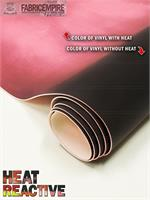"""Vinyl Upholstery Temperature Change Heat Reactive Faux PU Leather 54/"""" Sold BTY"""