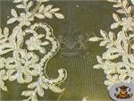 Mesh Lace Embroidery Fabric