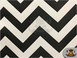Poly Satin Chevron Fabric