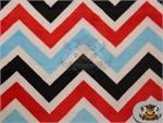 Ultra Zigzag/Chevron Cuddle Fabric