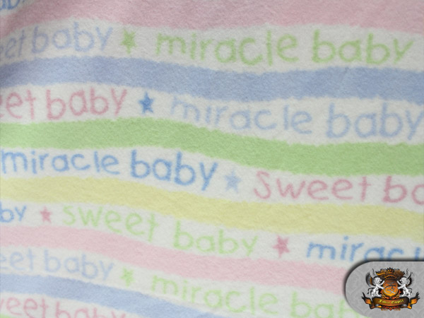 Fleece miracle baby fabric by the yard ebay for Children s flannel fabric by the yard