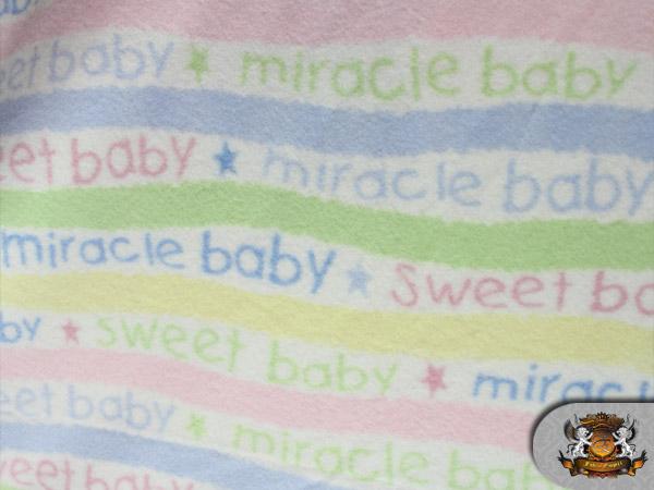 Fleece miracle baby fabric by the yard ebay for Baby fabric by the yard
