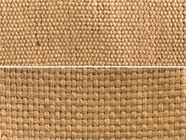 Burlap Natural Fiber Weave Carpet Fabric