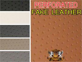 Vinyl Upholstery PERFORATED Fabric