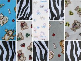 Polycotton Fabric Printed Animals