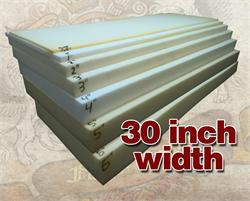 """1//4/"""" x 24/"""" x 72/"""" Dry Fast Reticulated Foam Sheets"""