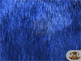 Sparkling Electric Tinsel Faux Fur Fabrics