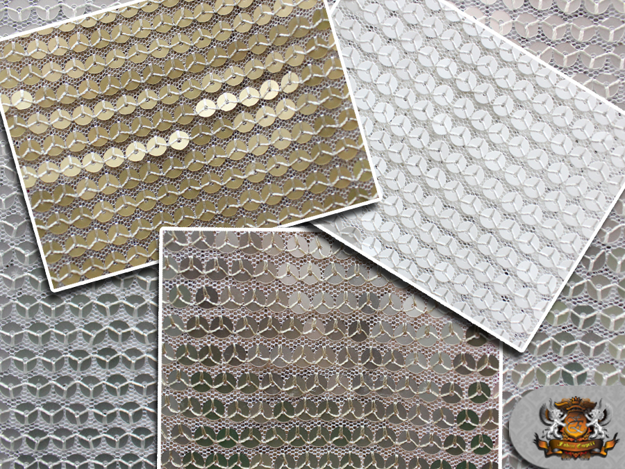 Mesh sequin fish scale fabrics 52 wide sold by the for Fish scale fabric