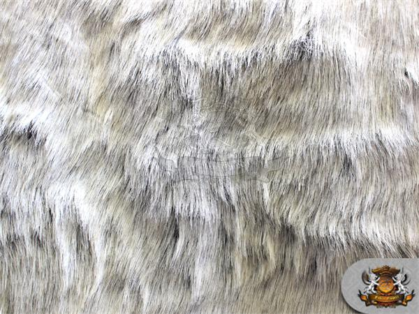 "Faux Fur Long Pile KOALA BEAR WHITE Fabric / 60"" Wide ..."