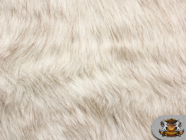 faux fur long pile lion white fabric 64 wide sold by the yard ebay. Black Bedroom Furniture Sets. Home Design Ideas