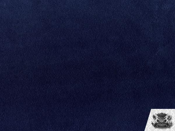 Velboa Solid Navy Fabric by The Yard